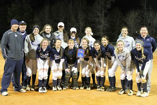 2014 Chapin Softball