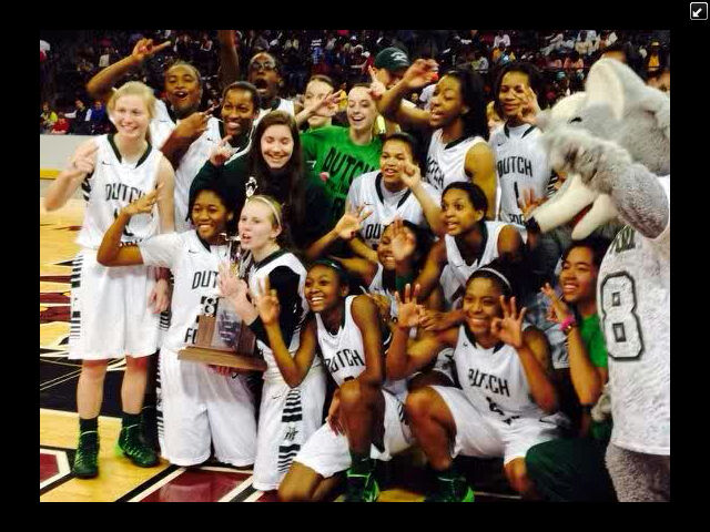 2014 Dutch Fork Girls Basketball