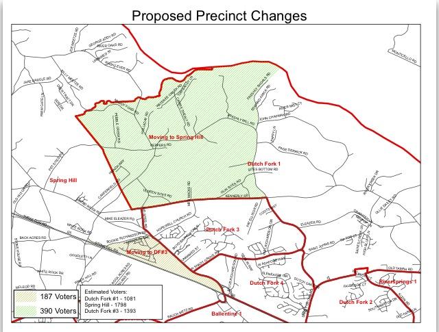 precinct changes